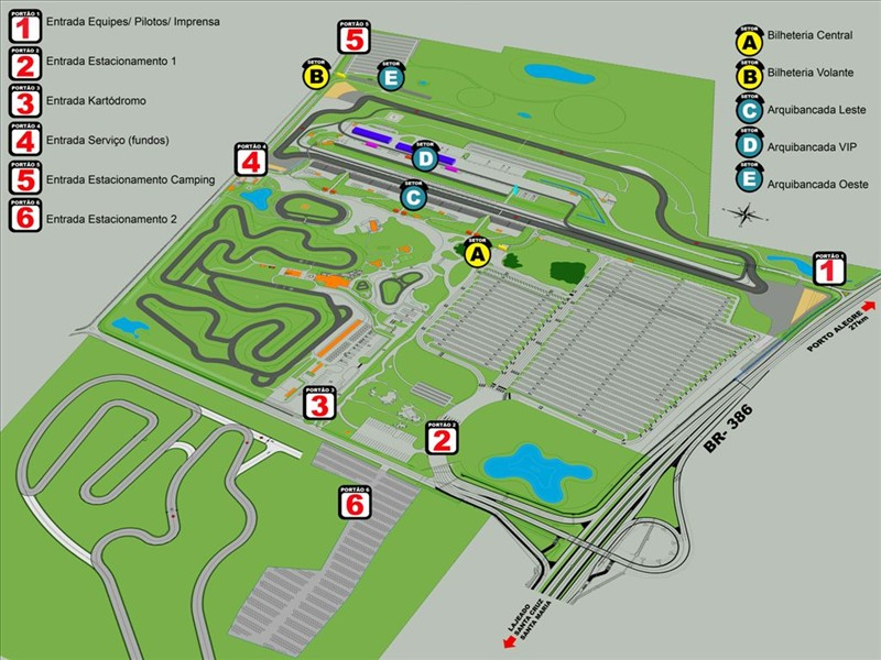 lay out velopark